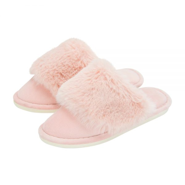 Cosy Luxe - Slippers - Pink - Annabel Trends
