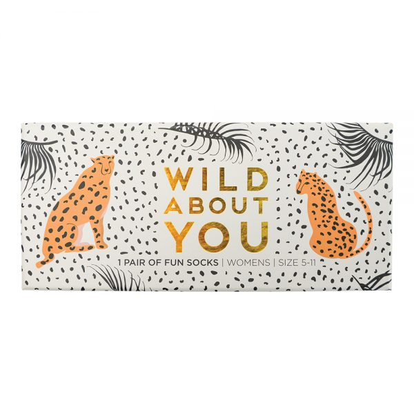 Boxed Socks - Wild About You - Annabel Trends