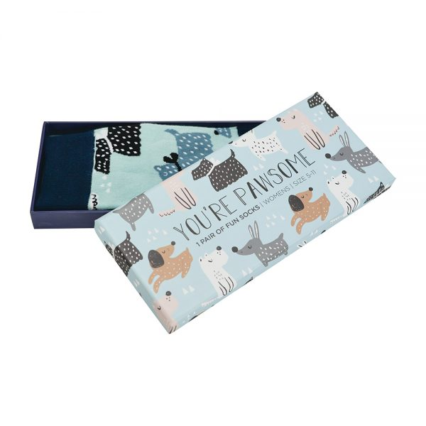 Boxed Socks - You're Pawsome - Annabel Trends